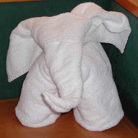 ぞうさんタオルの作り方
