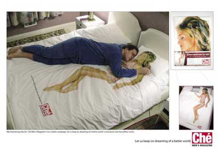 Che Magazineの見てる人の心へ影響する広告