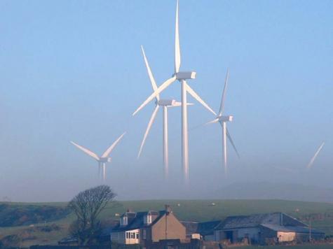 巨大風車が怖い・・・
