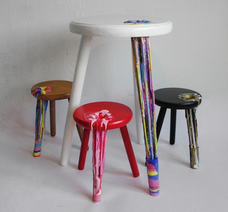 色の掛け合いが美しいオランダのデザイナー - Anna ter Haar