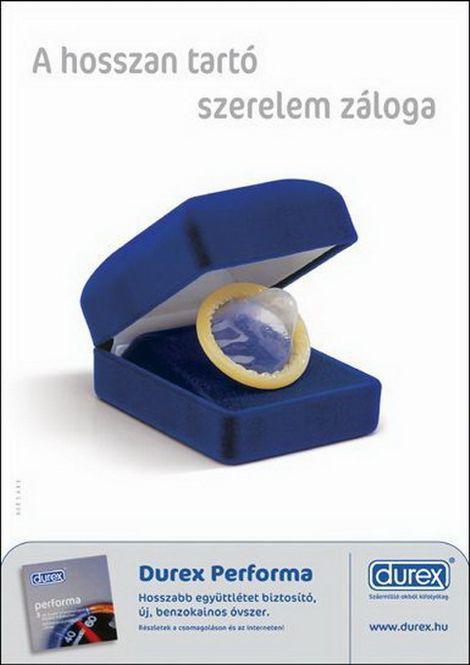 コンドームのユニークな広告の写真いろいろ