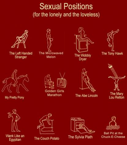 Sexual Positions For The Lonely