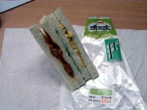 究極に手抜きなサンドウィッチ