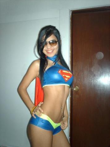 Sexyなスーパーガール