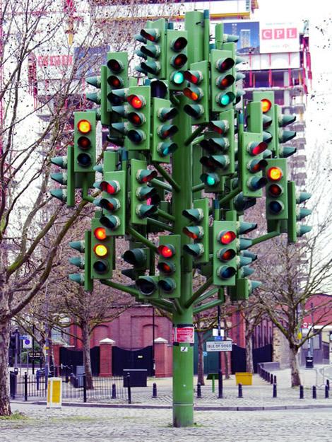 信号機ツリー