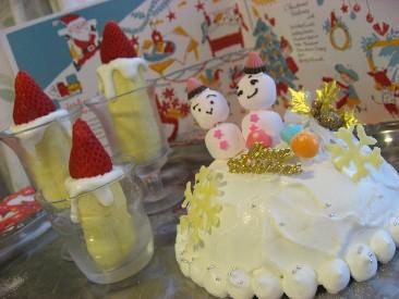 ホワイトクリスマスのイメージ