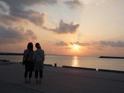 沖縄さ~-朝日