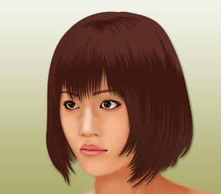 綾瀬はるかさんの似顔絵