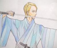金髪の少年剣士