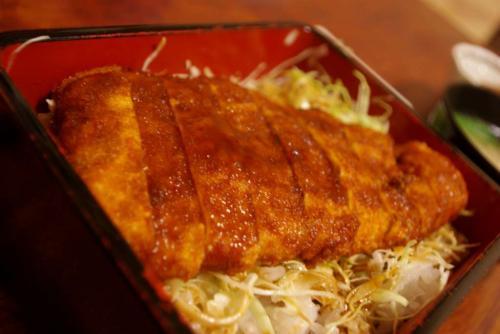 とん香 ソースカツ丼2008秋