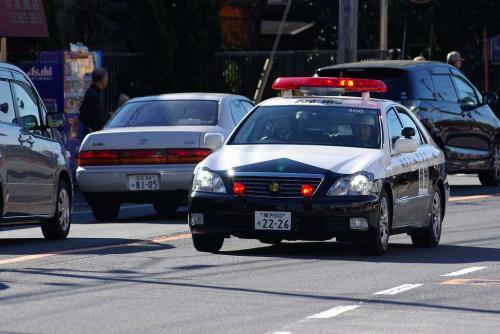 2駅伝クラウンパトカー2009