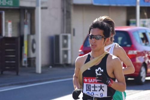 8駅伝走者2009