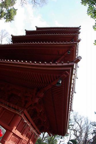 中山 五重塔