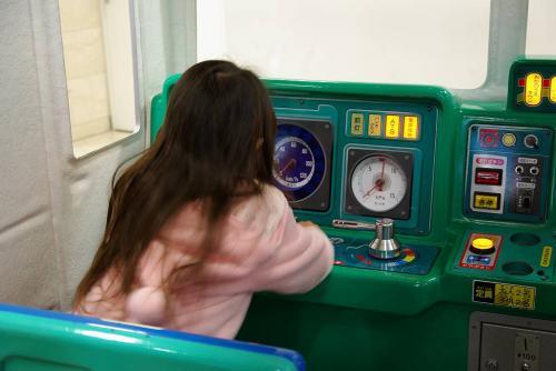 姪の運転する電車に乗って オリンピックから