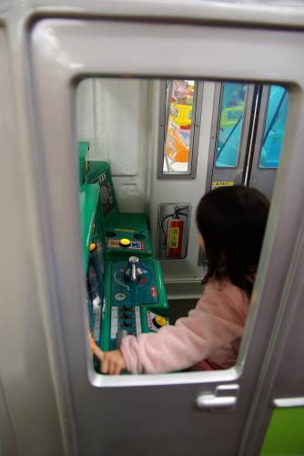 姪の運転する電車に乗って オリンピックから よく出来てる