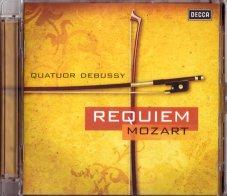 モーツァルトのレクイエムSQ版のCD