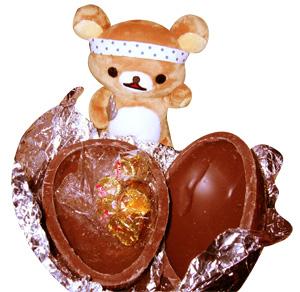 更に中からチョコレートが出てきました(´∀`∩
