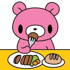 グルーミーのお食事♪
