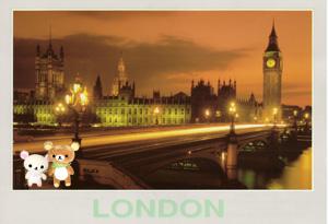 ロンドンにて・・・
