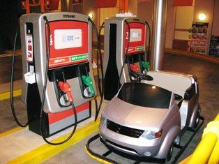 レンタカーのガソリン補給♪
