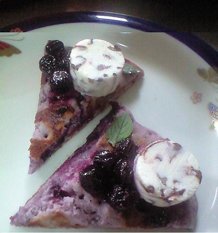 ブーベリーホットケーキ