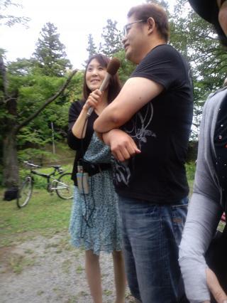 菅野さんと海藤アナ