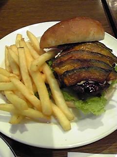 パンプキンバーガー