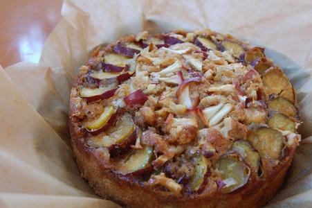 紅玉リンゴとさつまいものケーキ