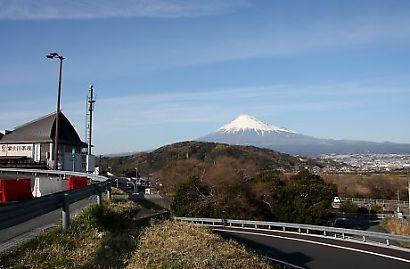 富士川楽座からの富士-1