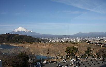富士川楽座からの富士-2