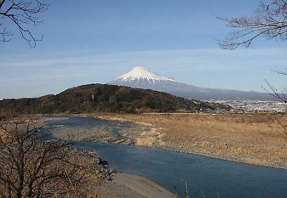 富士川楽座からの富士-3