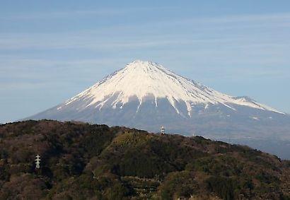 富士川楽座からの富士-4