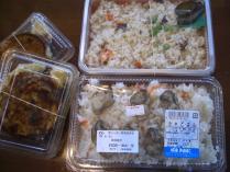 たきこみご飯・太鼓焼き