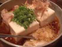 豆腐のとろろかけ
