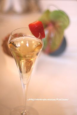 シャンパン・ティー