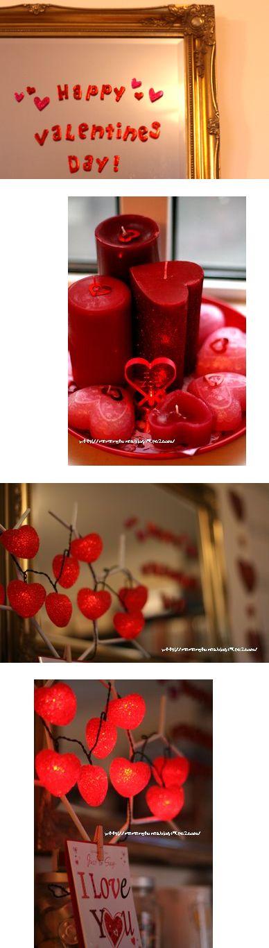 valentine deco @ home