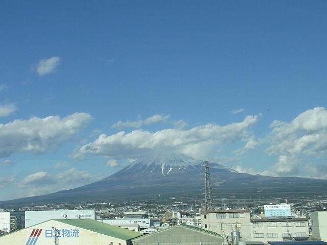 富士山は雲の中やってんで!