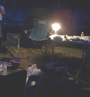 ナイトキャンプ