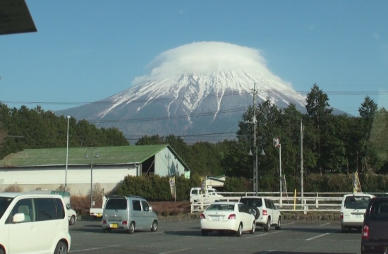 ミルクランドからみた富士の山~
