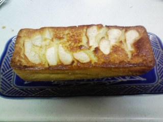 手作りリンゴケーキ