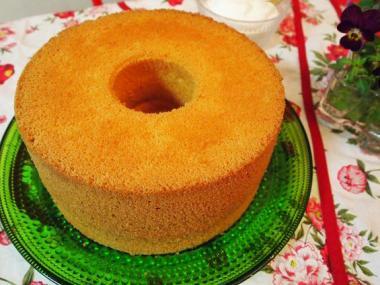 chiffon cake×kastehelmi