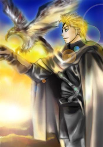 黒い騎士ギポ