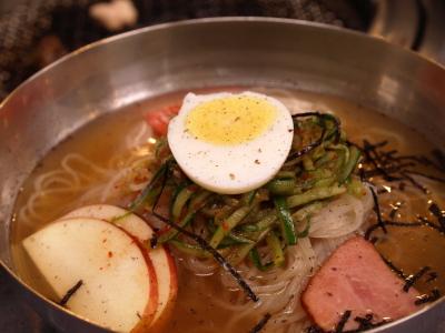 冷麺(小辛)@ソウル亭焼肉ハウス