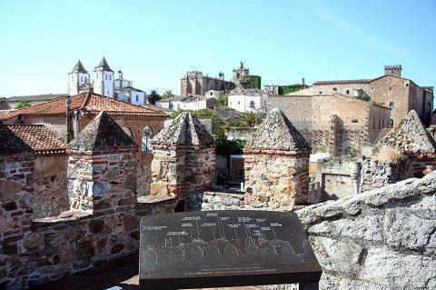 バフコの塔からの眺め(カセレス)