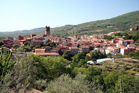 町の全景(Garganta la Olla)