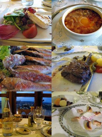 パラドールの夕食(トレド)