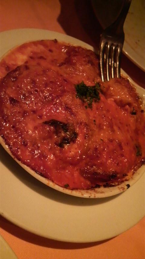 PiccoloGrande(茄子とモッツァレラのオーブン焼)
