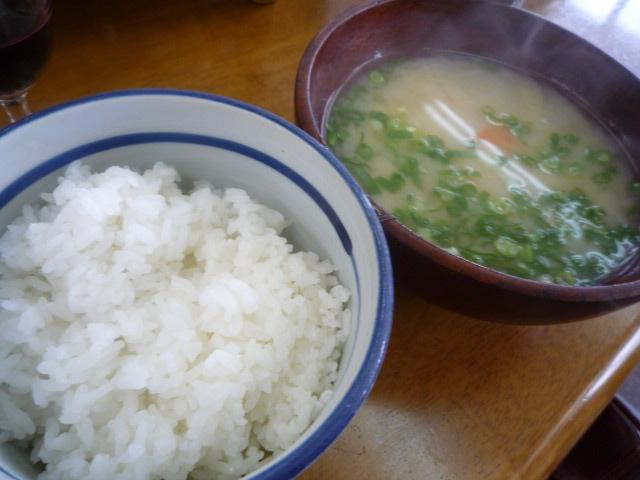 桜本陣(ご飯&お味噌汁)