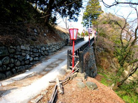 相馬神社の坂