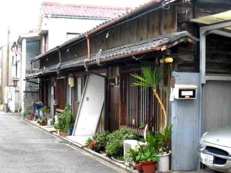 古井ノ坂近辺の古い家